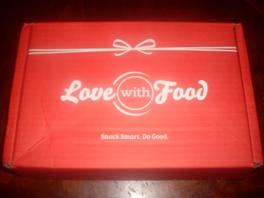 LOVE WITH FOOD - A REVIEW Love With Food subscription snack box