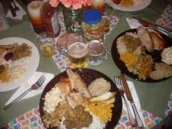 Thanksgiving Dinner - Thanksgiving Dishes and Table Setting Ideas