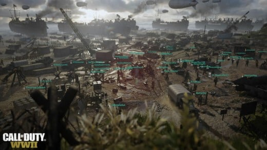 Call of Duty: WWII - be sure to check out the new headquarters mode