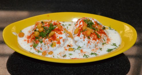 Making Easy Curd Vada or Dahi Vada/Thair Vada