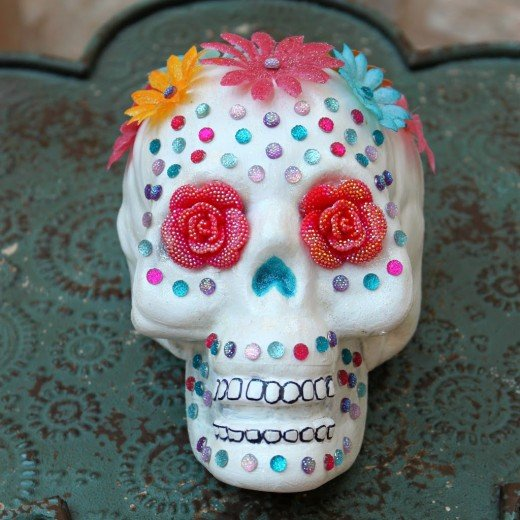 """Traditional"" Sugar Skull ..... from Spain."