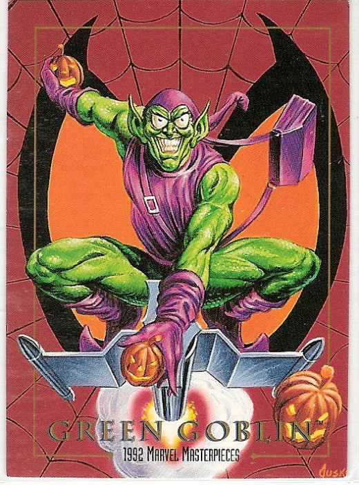 Green Goblin by Joe Jusko (1992 Marvel Masterpieces)