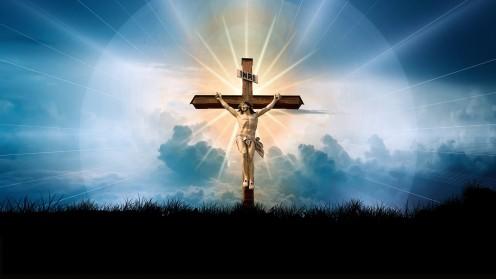 Jesus in a Cross