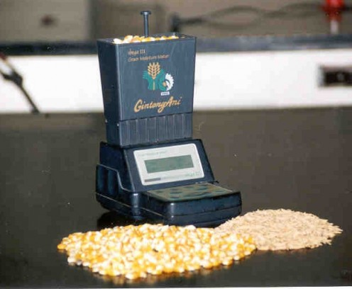 Corn moisture meter used by the Philippine government.