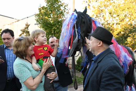 The Tryon International Film Festival even showcased some real horses.