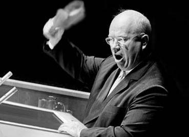 On October 16, 1960 Soviet Union Premier Nikita Khrushchev made the famous proclamation that the US would be defeated without a shot being fired. Less than half a century later, he has been proven right! For all intents, America has fallen.