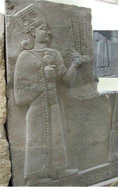 Full Basalt Relief of Kubaba