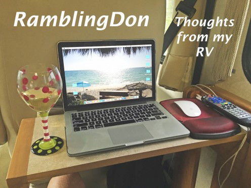 Ramblingdon: It's My Turn, My Rv and My Traveling Lifestyle