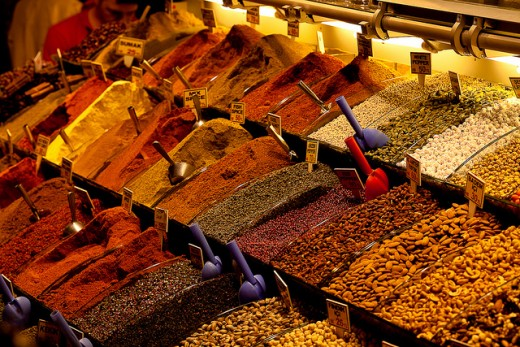 There's more that meets the eye - spices and other treats from Istanbul are a welcome sight for locals and tourists alike.