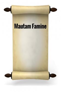 Mautam Famine