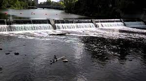 North Lansing Dam--important for river management but difficult for fish to climb