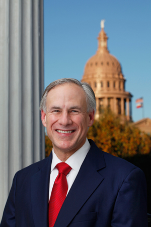 Greg Abbott is Texas 48th governor and has overcome a life-threatening injury to serve as a judge and then as Texas Attorney General before being elected Governor.  He is an advocate of strong border security.