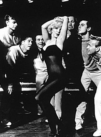 """Marilyn Monroe performing """"My Heart Belongs to My Daddy"""""""