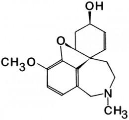 the Galantamine molecule