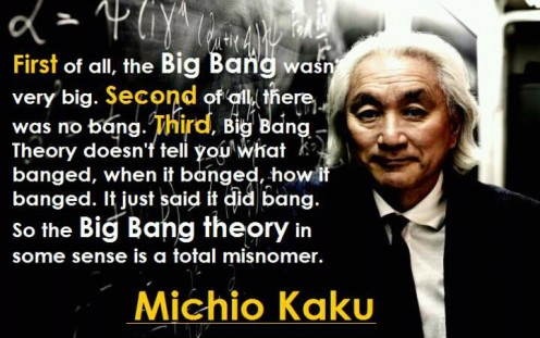 Dr. Michio Kaku on the 'Big Bang' theory
