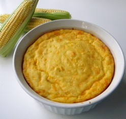 How to Make Sweet Corn Spoonbread For Thanksgiving