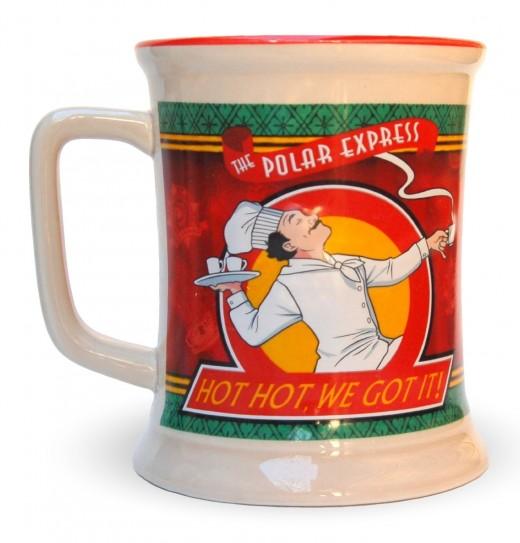 Polar Express 10th Anniversary Hot Chocolate Mug