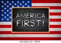 What Does America First Mean to Me