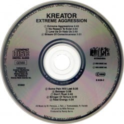 "Review of the Album ""Extreme Aggression"" by German Thrash Metal Band Kreator"