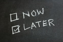 The Habit of Procrastination and What to Do About It?