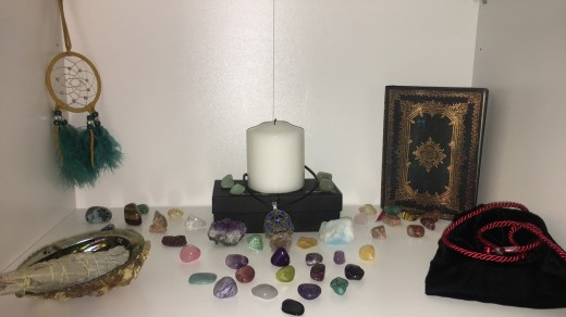 Crystals and Tumbled Stones