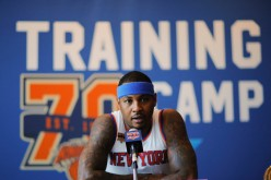 Carmelo Anthony and the Knicks