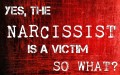 Yes, Narcissists are Victims. So What?