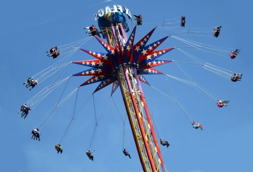 """Swing Your Partner"" Takes On New Meaning in Texas at Six Flags"
