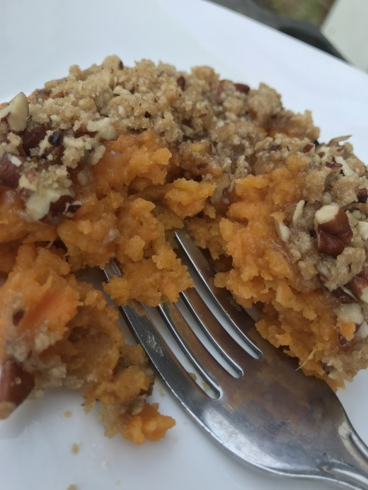 This sweet potato casserole recipe with a praline topping is one of the reasons everyone looks forward to Thanksgiving. This particular recipe can be made ahead, making dinner even easier to put together.