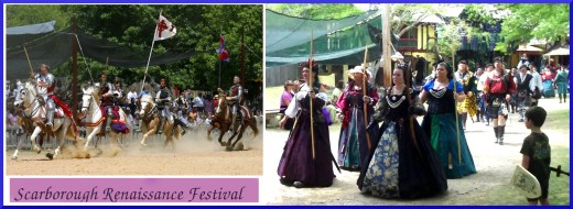 The Scarborough Faire Renaissance Festival is Held in Waxahachi, a Suburb South of Dallas