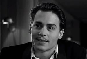 Johnny Depp playing Ed Wood Jr.