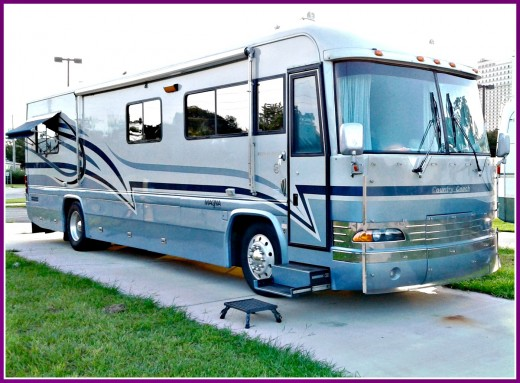 If you level your RV, doors and windows will open and close without any problems.