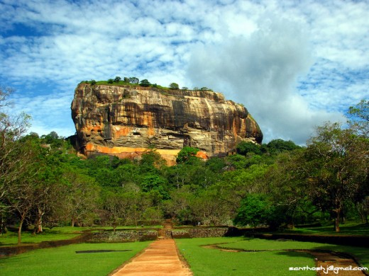 The Rock of Sigiriya
