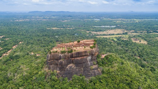 View around Lion Rock, Sigiriya