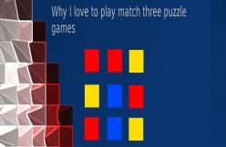 Why I Love Match Three Games