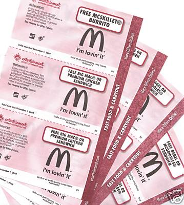We know people love using free printable McDonalds coupons to save money.
