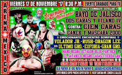 CMLL Super Viernes: Legends Night