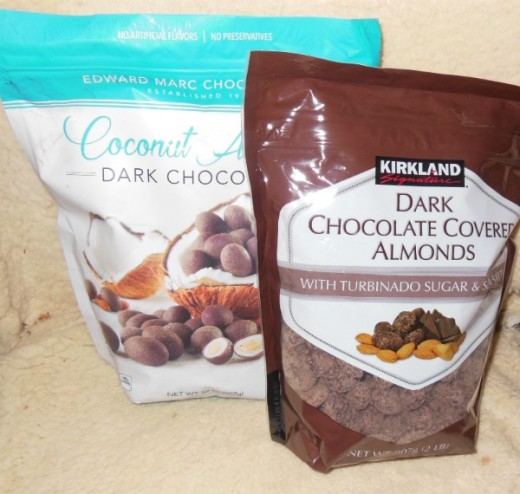 These are very tasty, and I won't buy the Dark Chocolate Coconut  Almonds anymore because they are two tasty. When they are around I have no self-control, and they are less nutritious than barkTHINS.
