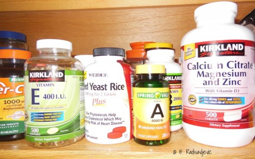 Since we want to cover all the nutritional bases, we do use supplements, many recommended by our medical professionals.