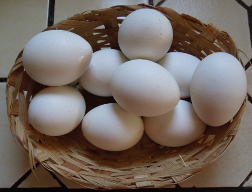 I boil about 14 eggs each weeks so that all we have to do is grab one or two as the main part of breakfast or lunch.