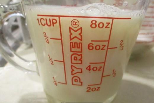 1 cup milk