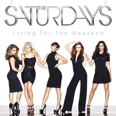 From left to right: Vanessa White, Mollie King, Frankie Sandford, Una Healy, and Rochelle Humes (maiden surname was Wiseman).