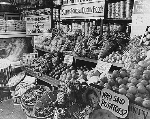 Surplus Commodities Program, 1936