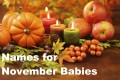 November Baby Names: 30 Ideas for Boys and Girls