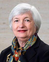 Ms. Janet Yellen is an American Economist who has been the Chairman of the Federal Reserve Board of Governors since 2014. She was nominated by then President Obama. Previous to that she served as Vice-Chair from 2011 to 2014.