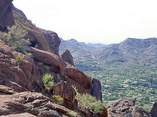 View from Echo Canyon Trail on Camelback Mountain
