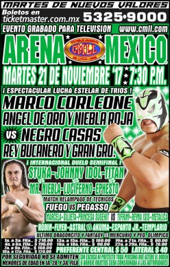 The Second Match Delight: News and Notes from CMLL Tuesday