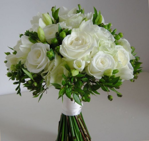 Wedding Flowers For The Bridesmaids