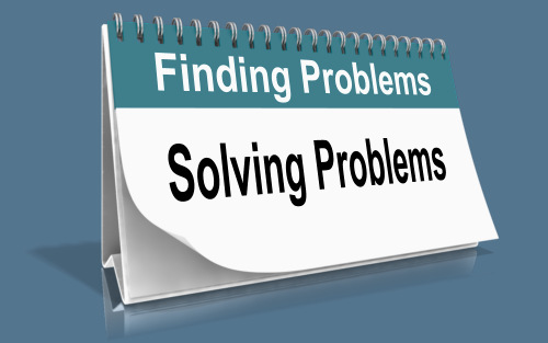 Finding Problems and Solving Problems