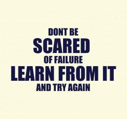 Never Lose Hope, Try, Try, Try Again!